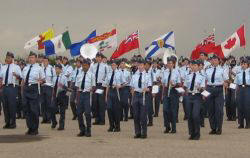 summer cadet flag ceremony