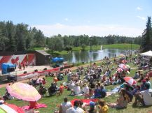 Canada Day at Bower Ponds