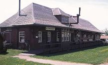 Bowden station at Innisfail Historical Village