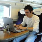 increased productivity on high speed train